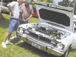 Car show rolls into Corinth
